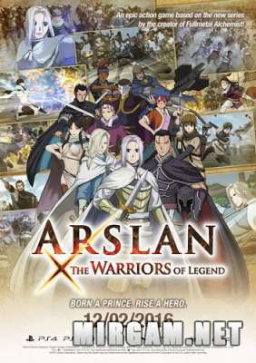 Arslan The Warriors of Legend (2016) / Арслан Зе Вариорс оф Легенд