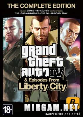 Grand Theft Auto IV Complete Edition (2010) / Гранд Зефт Ауто 4 Комплит Эдишн